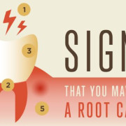 Signs for a root canal